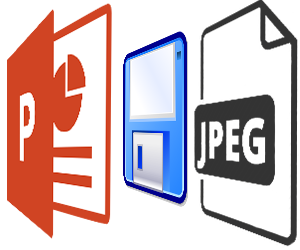 Easy change Powerpoint image save resolution tool